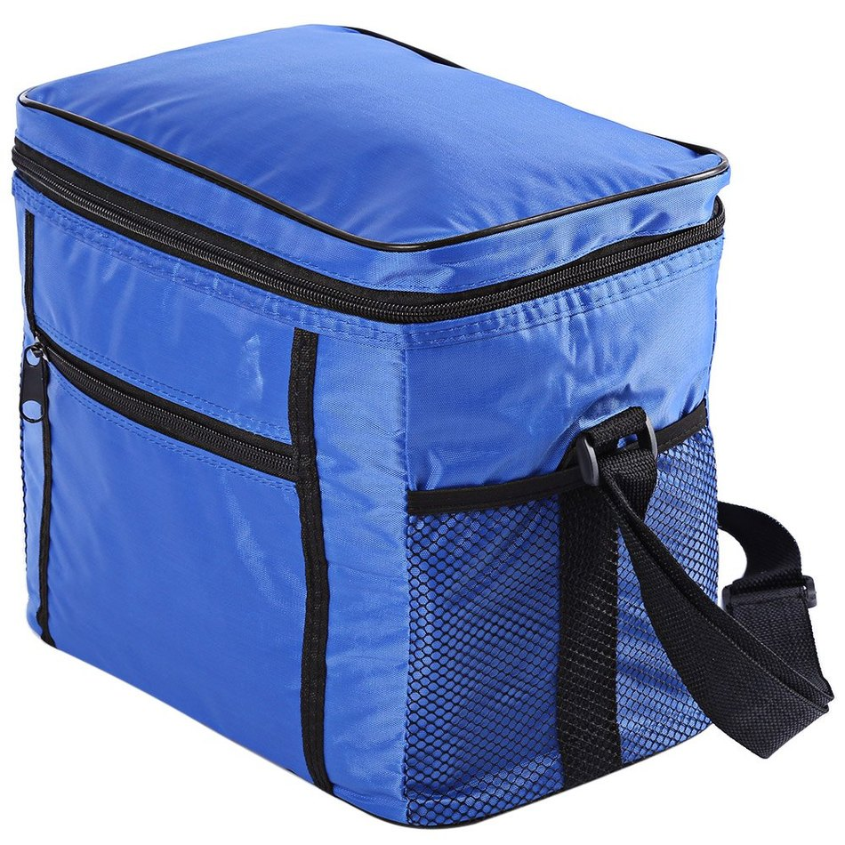 Thermal Cooler Waterproof Outdoor Picnic Bags Insulated Portable Tote Lunch Bags For Women Camping Oxford Cloth Travel Ice Box
